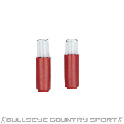 AIRSOFT MADBULL 60 DEGREE SHARK HOP RUBBER RED X 2