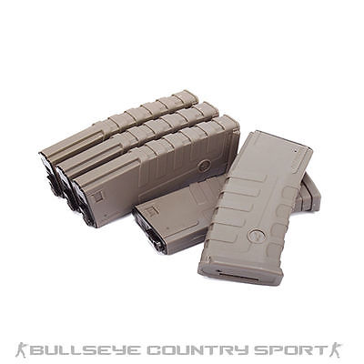 CAA AIRSOFT DIVISION M4 M16 140RD BOX SET DARK EARTH AEG M4 MAGAZINE
