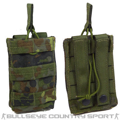 CLAW GEAR SINGLE M4 MAG POUCH QUICK RELEASE FLECKTARN MAGAZINE POUCH