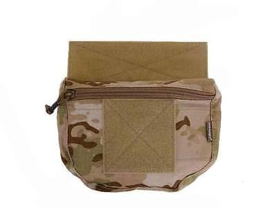 Emerson Airsoft Plate Carrier Drop Scrot Pouch For AVS JPC CPC Vest EM9283