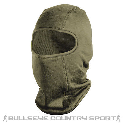 HELIKON COLD WEATHER BALACLAVA TACTICAL COMBAT ONE HOLE GREEN