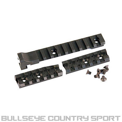 ICS CXP TRIPLE RAIL SET 20MM 3 PIECE BLACK PART NO MA-102