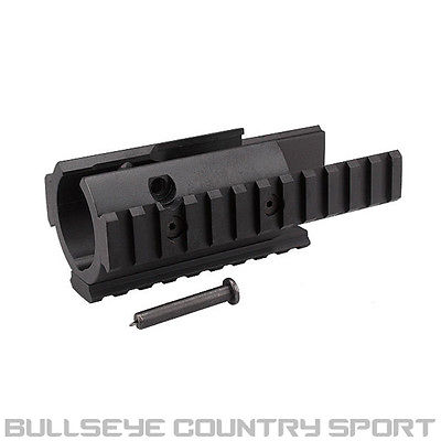 ICS FRONT HAND GUARD RAIL SYSTEM BLACK MP5K MX5K METAL