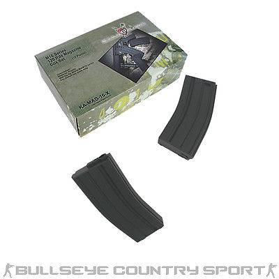KING ARMS 10 PIECE BOX SET M4 MAGAZINE 120RD MID CAPS VARIOUS COLORS AIRSOFT