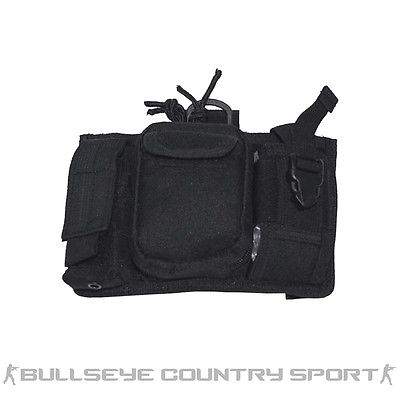 Mfh Admin Panel with Phone Pouch Black