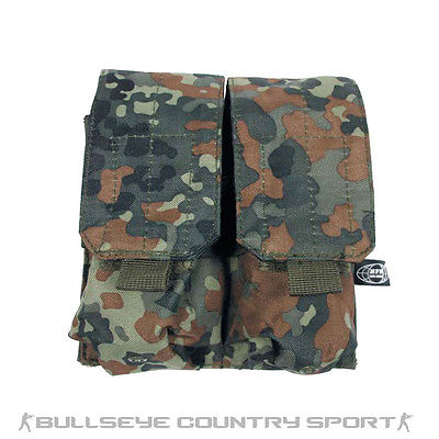 Mfh M4 M16 Double Magazine Pouch German Flecktarn