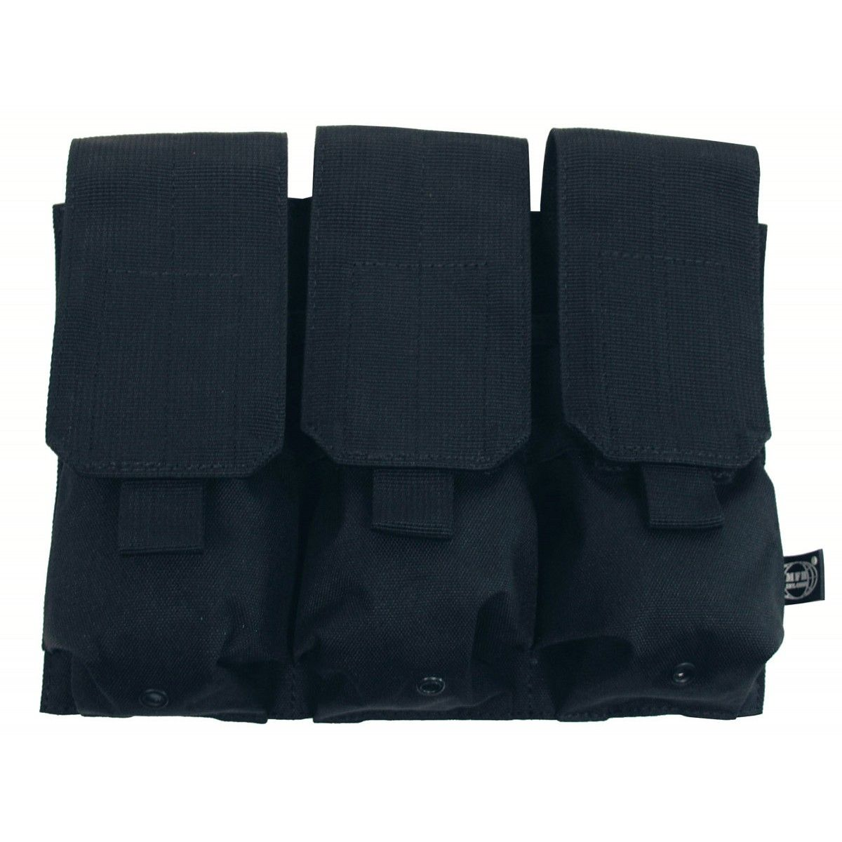 Mfh M4 Triple Magazine Pouch M16 Black