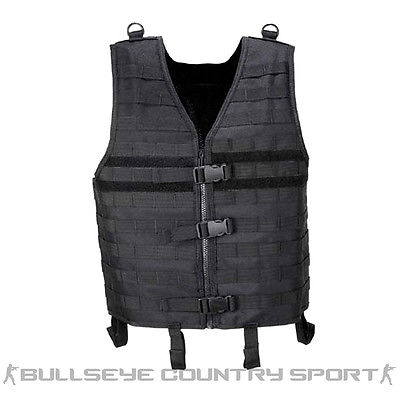 Mfh Molle Light Platform Vest Modular Black