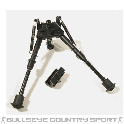 "SWISS ARMS COMPACT EXTENDABLE LIGHT WEIGHT BI-POD  6""- 9"""