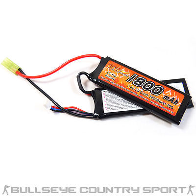 VB LIPO BATTERY TWIN PACK 7.4V 20C 1800 mAh TAMIYA