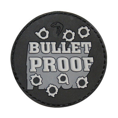 Viper Bullet Proof Morale Patch Airsoft Moral Patch Velcro Backed