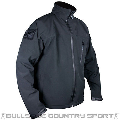 Web-Tex Tactical Soft Shell Jacket Black
