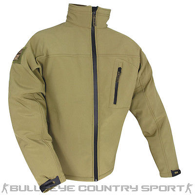 Web-Tex Tactical Soft Shell Jacket Coyote