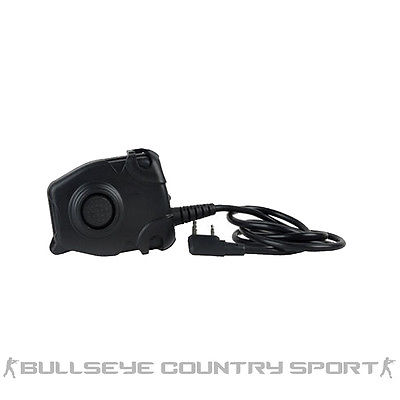 Z-Tactical PTT Push To Talk Unit Kenwood Version Double Pin Z112