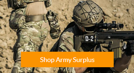 Army Surplus Promo