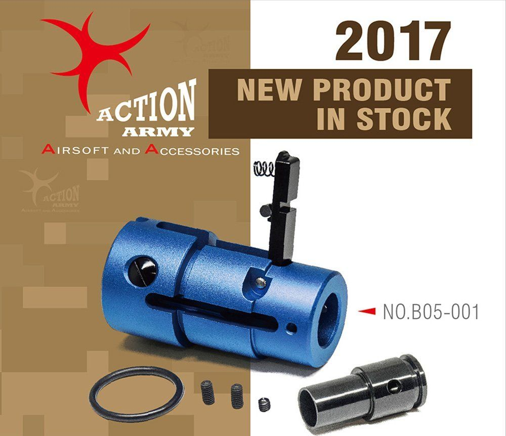 Action Army Airsoft Amoeba Striker Hop Up Chamber Unit B05-001