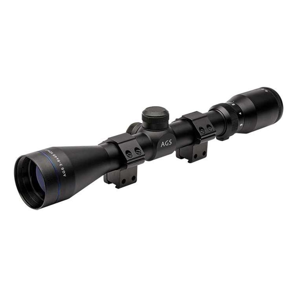AGS Cobalt Rifle Scope 3-9x40 Air Gun Mil-Dot Target Hunting Airsoft AGSS3940