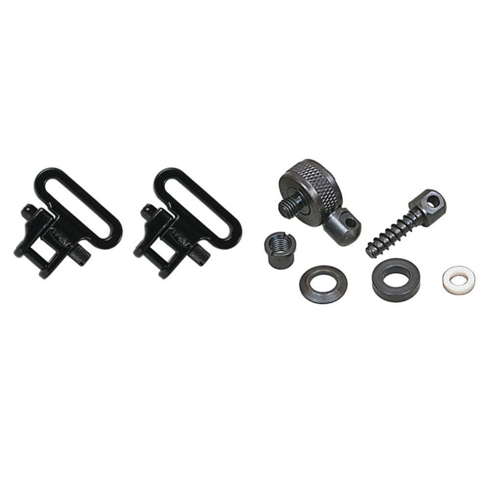 Allen Shotgun Sling Swivel Set Mount Fits 1″ Trap Game Hunt Shoot #14430