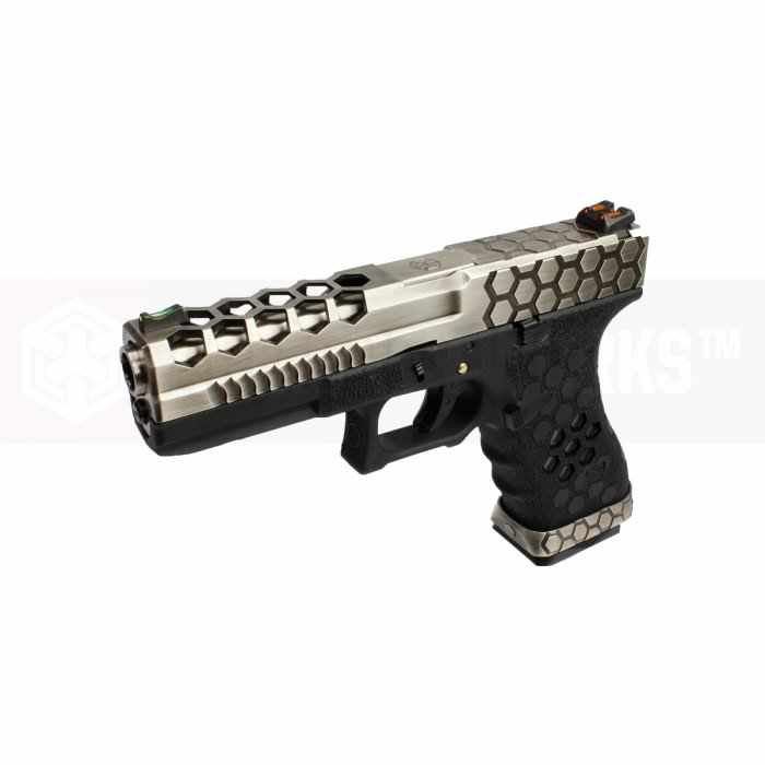 Armorer Works Hex Cut G17 VX0100 GBB Gas Airsoft Pistol