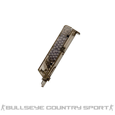 ASG 6mm BB Speed Loader Transparent Black 100rd