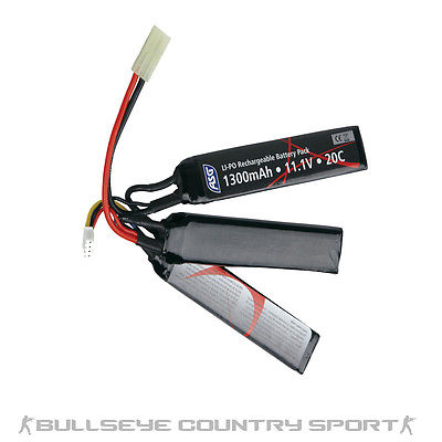 ASG Battery 11.1v 1300 Mah Li-Po Stick ( In Store Only )