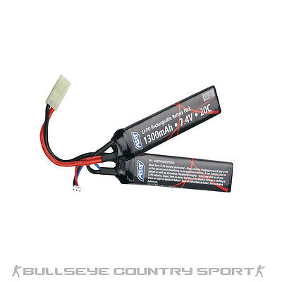 ASG BATTERY 7.4V 1300 mAh LI-PO STICK (In Store Only)