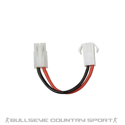 Asg Battery Adapter With Cable Large Male & Small Female