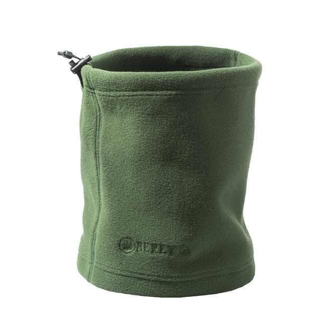 Beretta Fleece Neck Warmer Green Warm Microfiber Fabric Shooting Hunt SF111