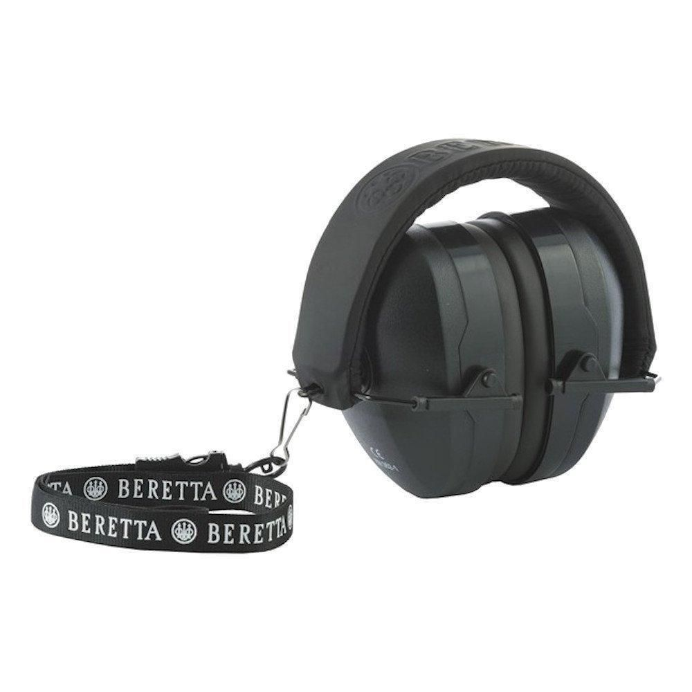 Beretta Gridshell Earmuff Ear Defenders Protection Shooting Clays Trap Black