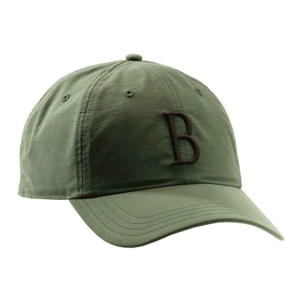 Beretta The Big B Baseball Hat Cap Logo Green Trap Shoot Clays Game BC053