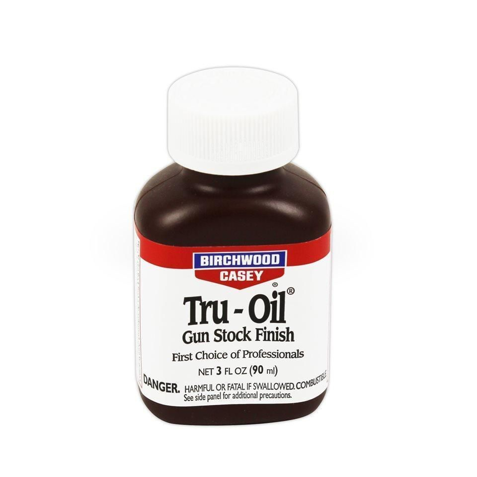 Birchwood Casey TRU-OIL Stock Finish 3 Fl Oz Bottle Hunt Shoot Game Trap #23123