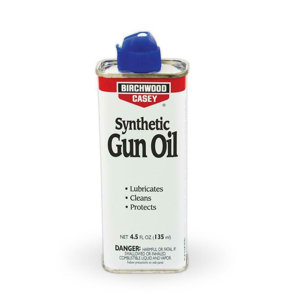 Birchwood Synthetic Gun Oil Spout Can Rifle Shotgun Air Cleaning Range 44128