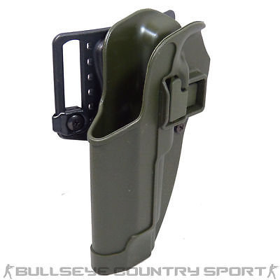 BLACKHAWK M92 SERPA HOLSTER OD LEFT HANDED