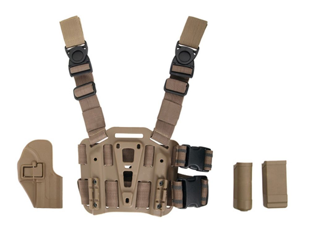 Cobra Drop Leg Panel Platform and Holster for USP