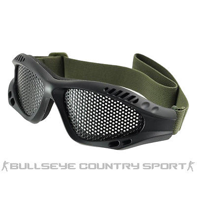 COBRA MESH AIRSOFT GOGGLES BLACK