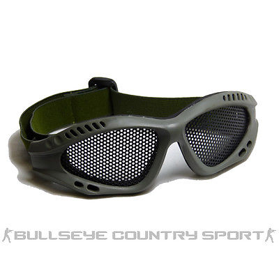 COBRA MESH AIRSOFT GOGGLES GREEN