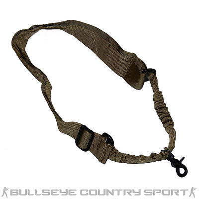 COBRA SINGLE POINT BUNGEE SLING TAN
