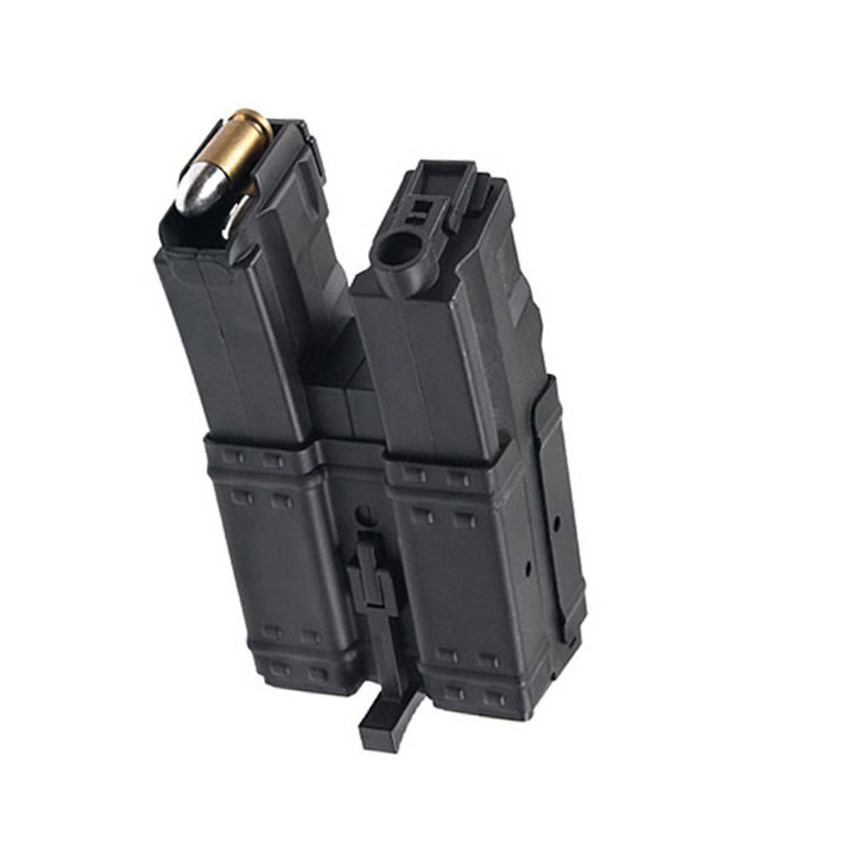 CYMA AIRSOFT MAGAZINE MP5 250 RD DOUBLE STACK HI-CAP BLACK WIND TYPE