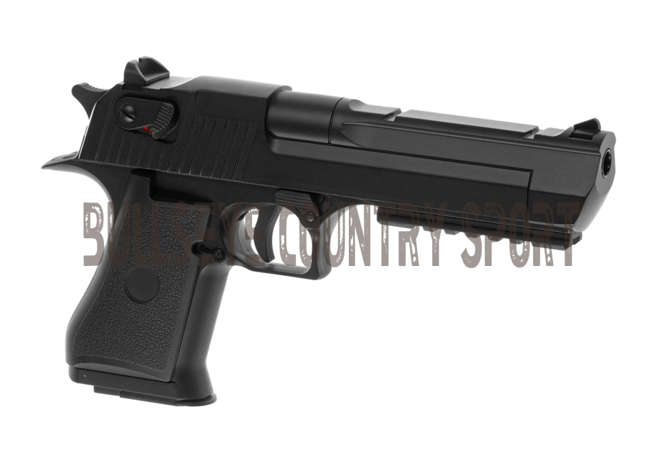 Cyma C.121 Airsoft AEP Electric Pistol Desert Eagle .50 Black