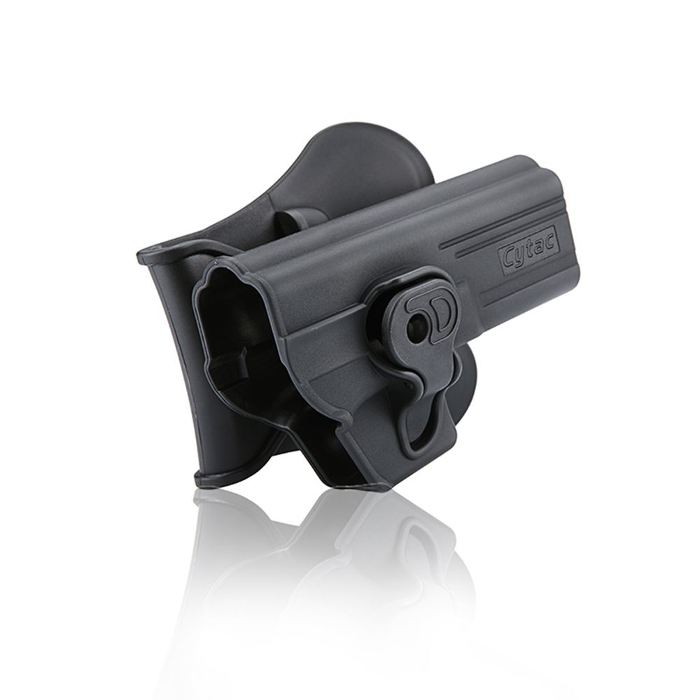 Cytac Polymer Belt Holster G-Series 17/22/31 Black Airsoft Pistol CY-G17