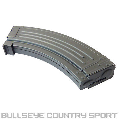 DBOYS AIRSOFT AK MAGAZINE 500 RD BLACK METAL AK47 AK74SU 6MM