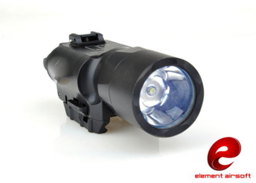 Element Airsoft X300 Compact Flashlight LED Torch 200 Lumens EX359