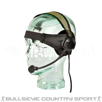 Element Z-Tactical Swimmer Radio Head Set F Green