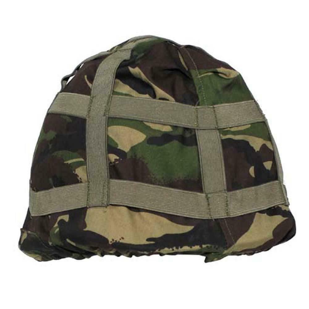 Ex Army Surplus Dpm Camo Helmet Cover Woodland