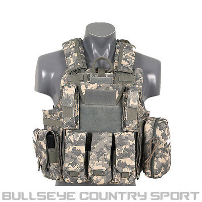 Fields Tactical Combat Vest Fully Loaded Us At Digital
