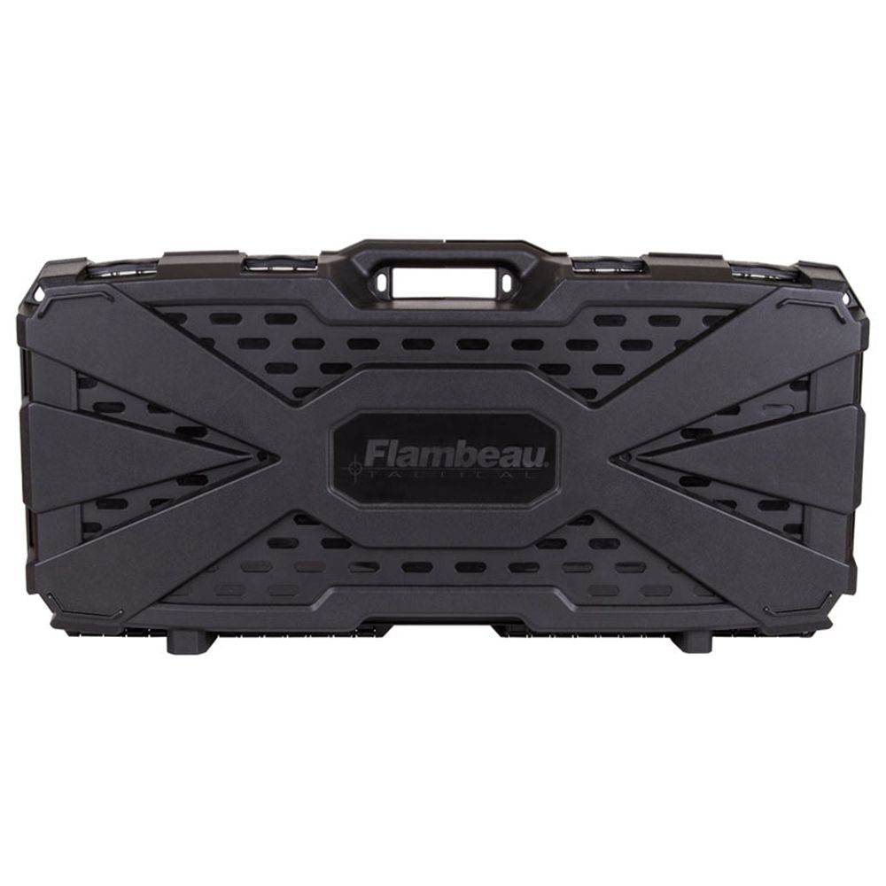 Flambeau Tactical PDW Weapon Carry Case Black Airsoft Range Mp5 #3011PDW