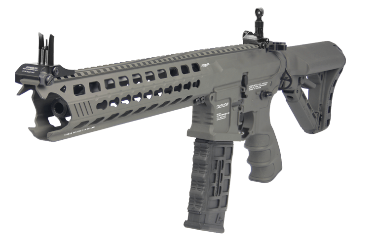 G&G Airsoft AEG GC16 Predator Rifle with ETU Gun Metal Grey EGC-PTR-BTG-BNB-NCM