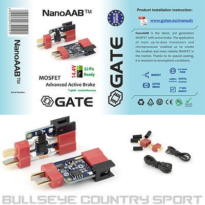 GATE NANO AAB Mosfet Active Breaking