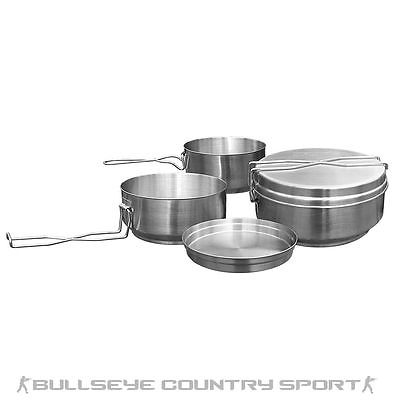 HELIKON MESS TINS 3 PCS STAINLESS STEEL CAMPING ARMY AIRSOFT