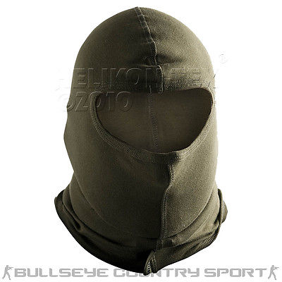HELIKON ONE HOLE BALACLAVA TACTICAL COMBAT BALACLAVA OLIVE GREEN